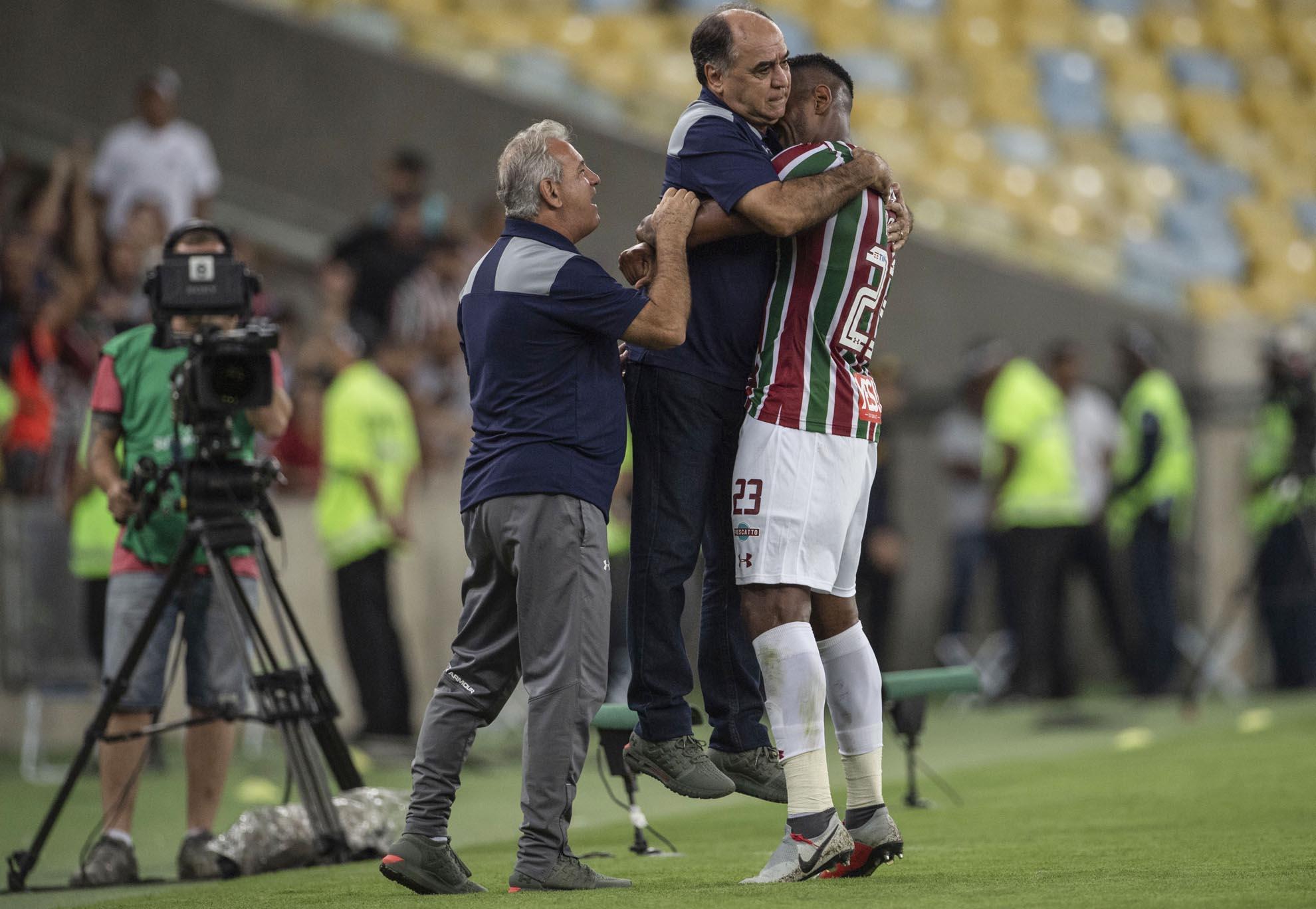 Veja fotos de Fluminense x Cuenca na Sul-Americana