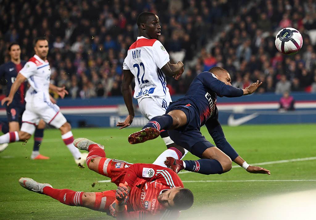 PSG x Lyon: veja fotos