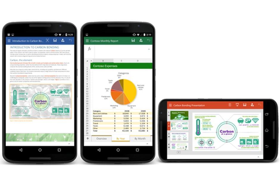 Office para IOS e Android ganharão novos recursos