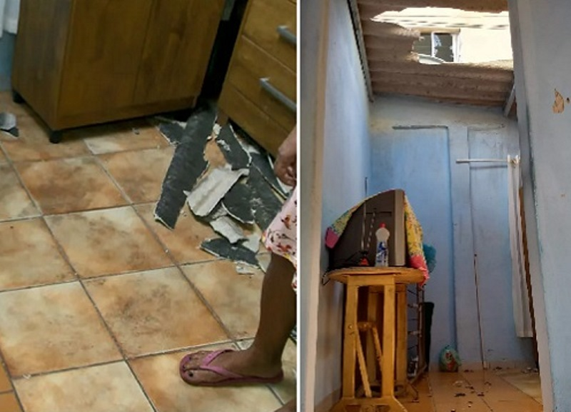 Mãe joga bebê de janela e pai cai junto com bebê na casa do vizinho ao tentar salvar