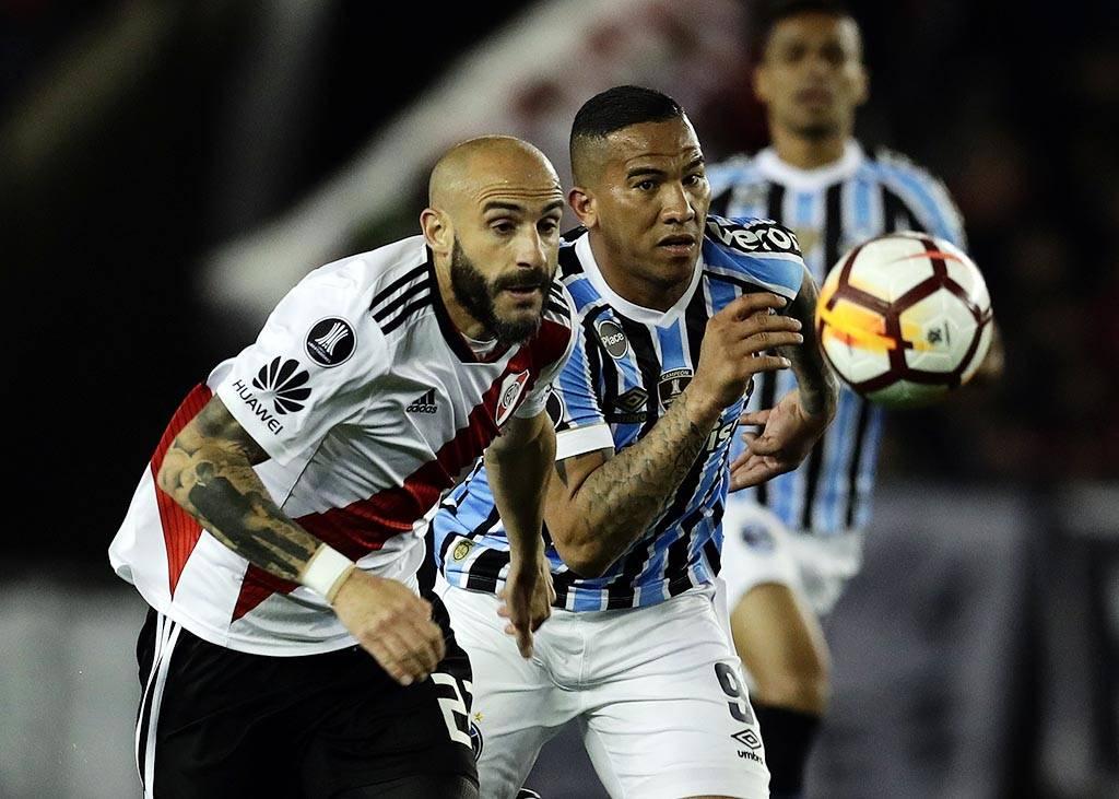 Estatísticas: River insiste nos cruzamentos, mas leva castigo do Grêmio