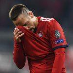 Ribery pede desculpas a comentarista após agressão