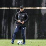 Santos tenta manter preparador físico da comissão de Cuca
