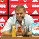 """Aguirre: """"O resultado é importante, melhor que perder"""""""