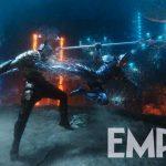 Aquaman: Novas imagens mostra combate brutal debaixo dágua