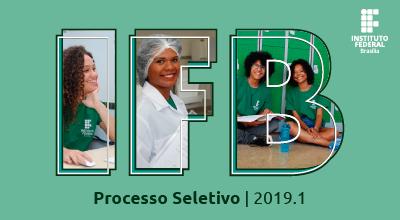 IFB divulga edital do Processo Seletivo 2019/1