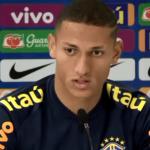 """""""Eu quero uma vaga na Copa América"""", afirma Richarlison"""
