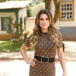 Na Globo, Flávia Alessandra relembra novela em que deu beijo de língua