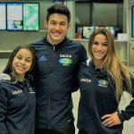 Ginastas da Seleção Brasileira estão na Suíça para dois torneios