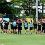 Imagens do treino do São Paulo desta quinta-feira