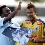 """Pelé revela papo com Neymar após a Copa: """"Ficou difícil defender"""""""
