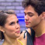 Lucas Veloso comemora um ano de namoro com bailarina do Faustão e agradece apresentador