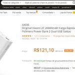 Banggood retoma envio de Power Banks e baterias Lipo