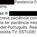 Internauta ofende Fofocalizando e Leo Dias reage furioso