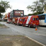 Colisão entre dois ônibus deixa 11 pessoas feridas na Asa Sul