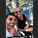 """André Santos brinca com chance de Tardelli ir ao Corinthians: """"Será?"""""""