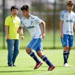 Com tradutor em campo, Palmeiras prepara japonês para Copinha