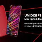 UMIDIGI F1 é lançado oficialmente por apenas US$ 199
