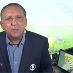 """Em festa da firma, Galvão Bueno se 'desespera' e dispara: """"A Globo enlouqueceu"""""""