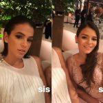 Luana Marquezine, irmã de Bruna, rouba a cena em novas fotos