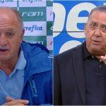 Galvão Bueno fala pela primeira vez sobre rixa com o técnico Felipão
