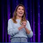 Rebeca Abravanel vence Record e Globo com edição inédita e com reprise do Roda a Roda