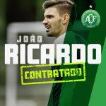 Chapecoense anuncia contratação do goleiro do América-MG