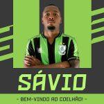 América Mineiro anuncia contratação do lateral-esquerdo Sávio
