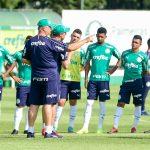 Felipão dá indícios de time titular do Palmeiras sem Bruno Henrique