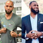 Santos brinca nas redes, comparando Everson com LeBron James