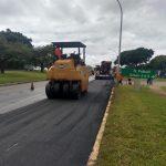 SOS DF revitaliza pista do Setor Policial Sul
