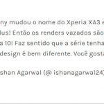 Xperia XA3 e XA3 Plus serão chamados Xperia 10 e 10 Plus depois de tudo
