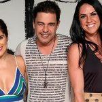 Após mágoa, Graciele Lacerda e filha de Zezé Di Camargo participam de programa de TV juntas pela 1ª vez